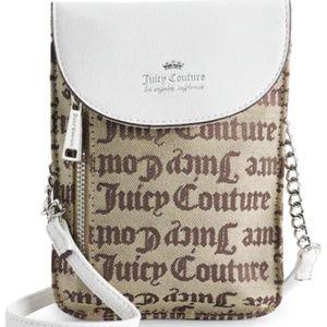 Juicy Couture Mini Crossbody Bag - Brown Beige